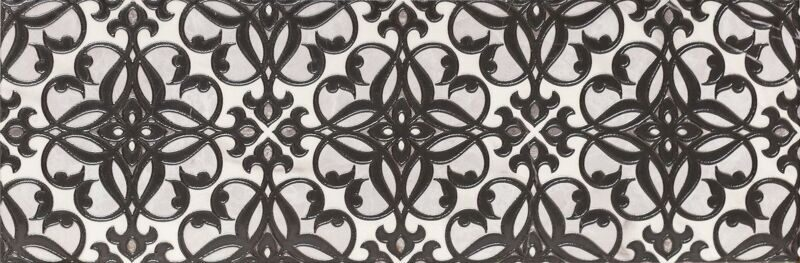 Velutti black decor 01 250х750 декор